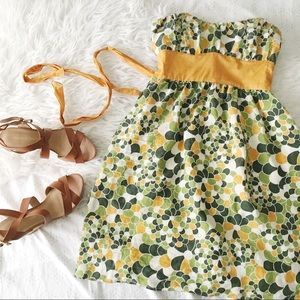 Strapless Dress With Vintage Charm
